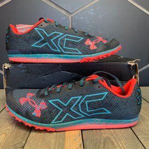 Under Armour Brigade XC Low Spikeless Blue Crimson